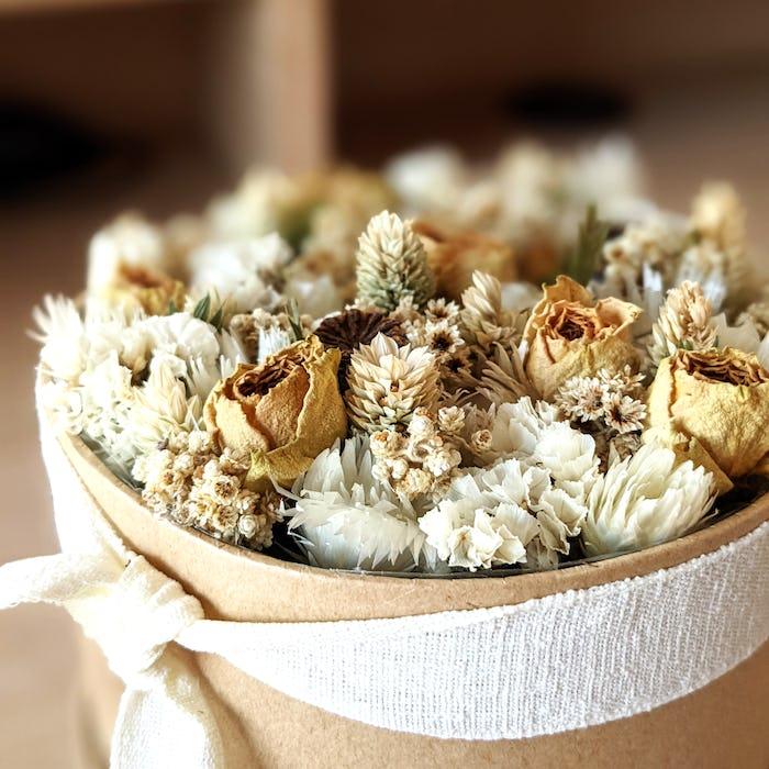 Boîte fleurie «Dune»