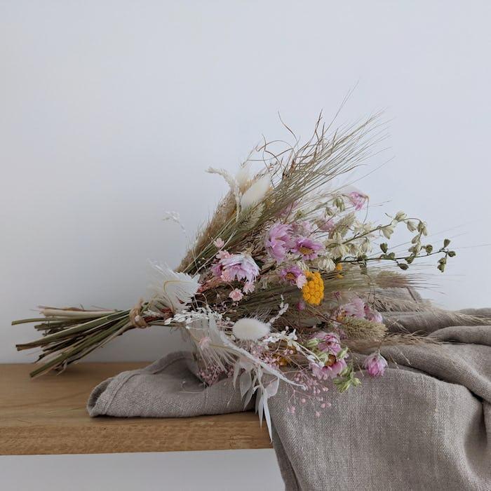 """Bouquet de fleurs séchées """"Tendresse"""""""