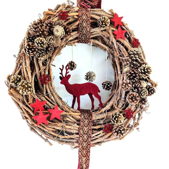 """Couronne de Noël """"La Foret"""""""