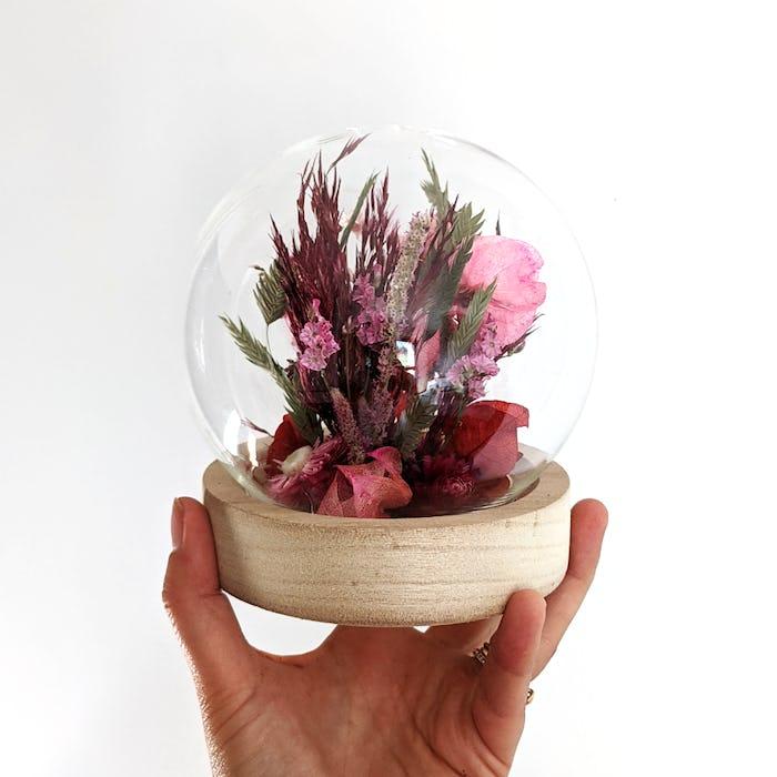 Sphère de fleurs séchées «Color Pop»