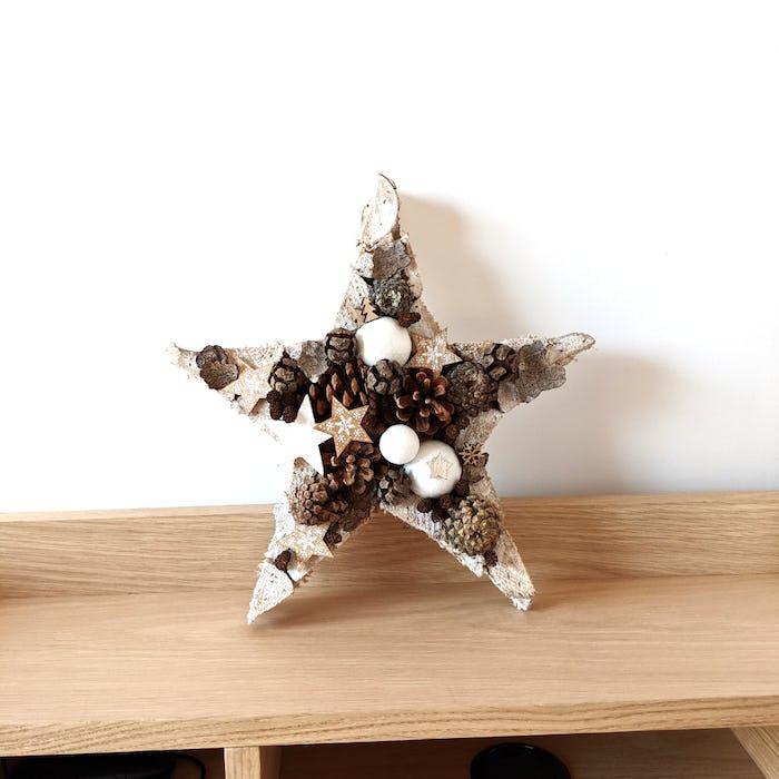 Couronne de Noël «Étoile filante»