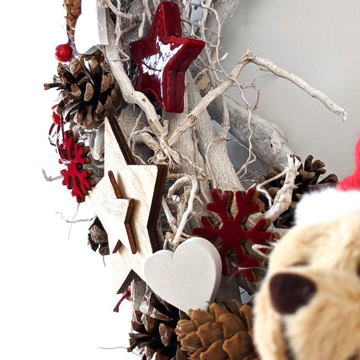 Couronne de Noël «Neige»