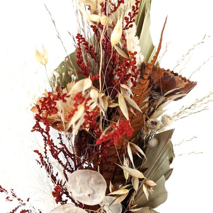 Bouquet de fleurs séchées «Palme»