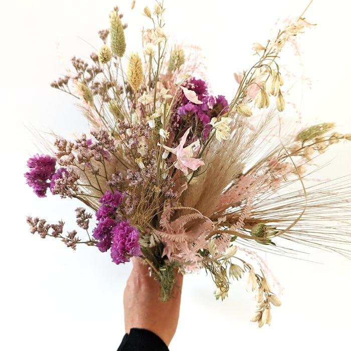 """Bouquet de fleurs séchées """"Douceur"""""""