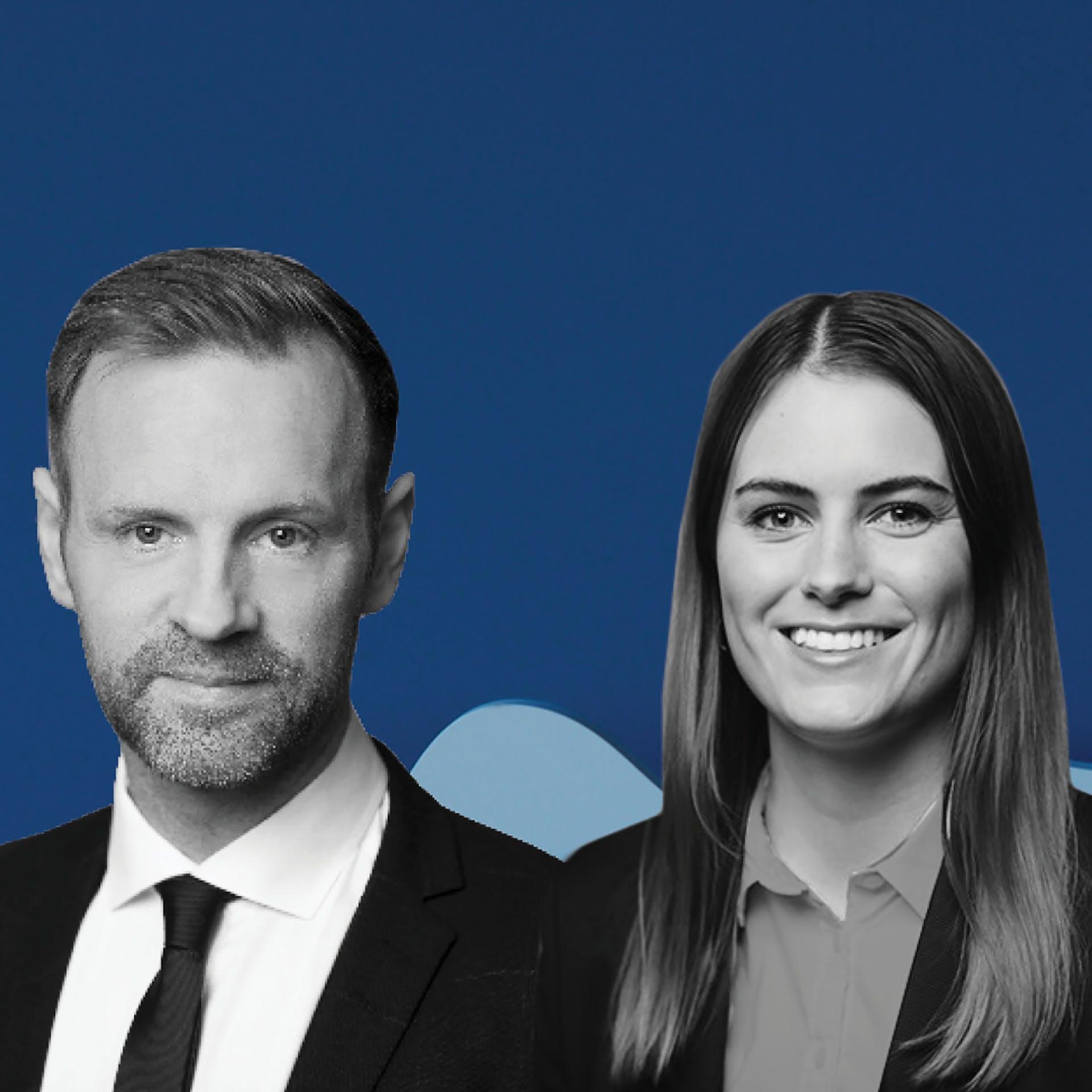 Sveinn Þórarinsson og Þórunn Björk Steingrímsdóttir