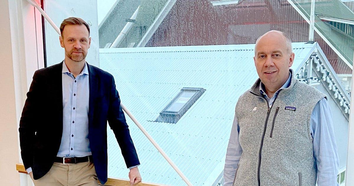 Sveinn Þórarinsson og Stefnir Kristjánsson