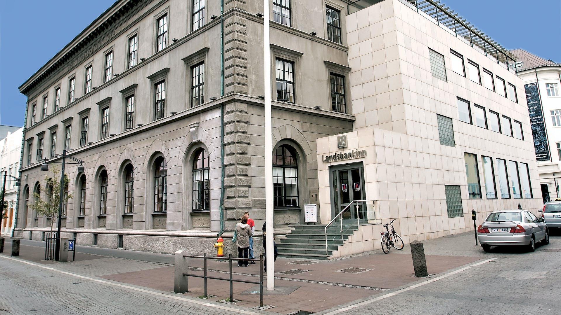 Höfuðstöðvar Landsbankans Austurstræti 11