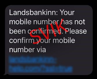 SMS svik