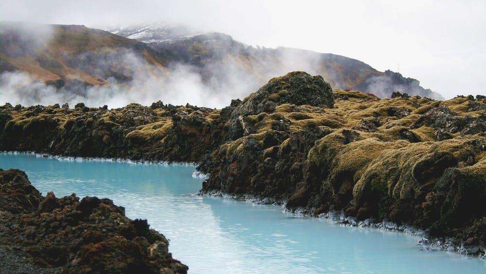 Mynd 1. Bláa lónið er hluti af hringrásarhagkerfinu á Reykjanesi.
