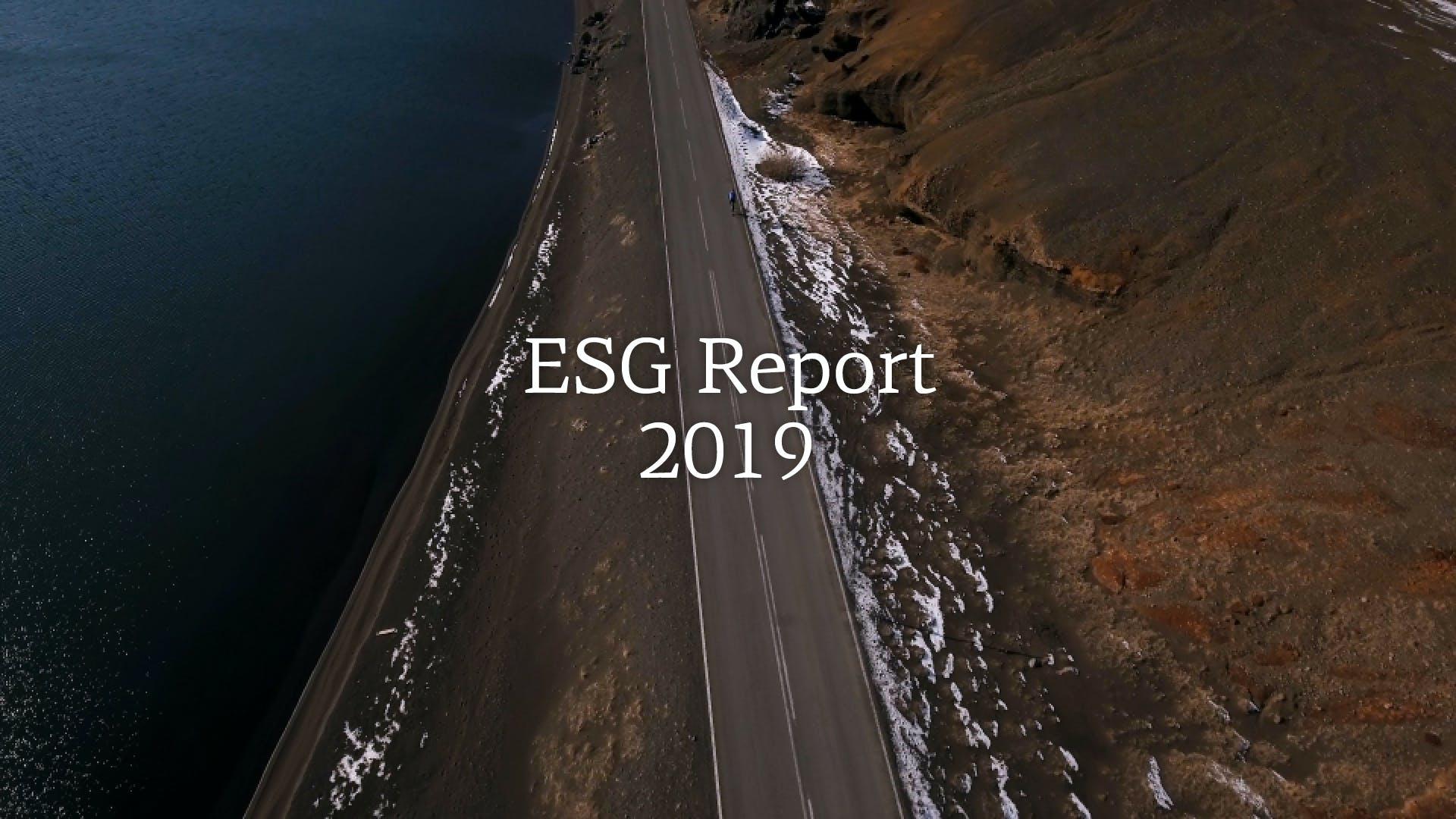 ESG Report 2019