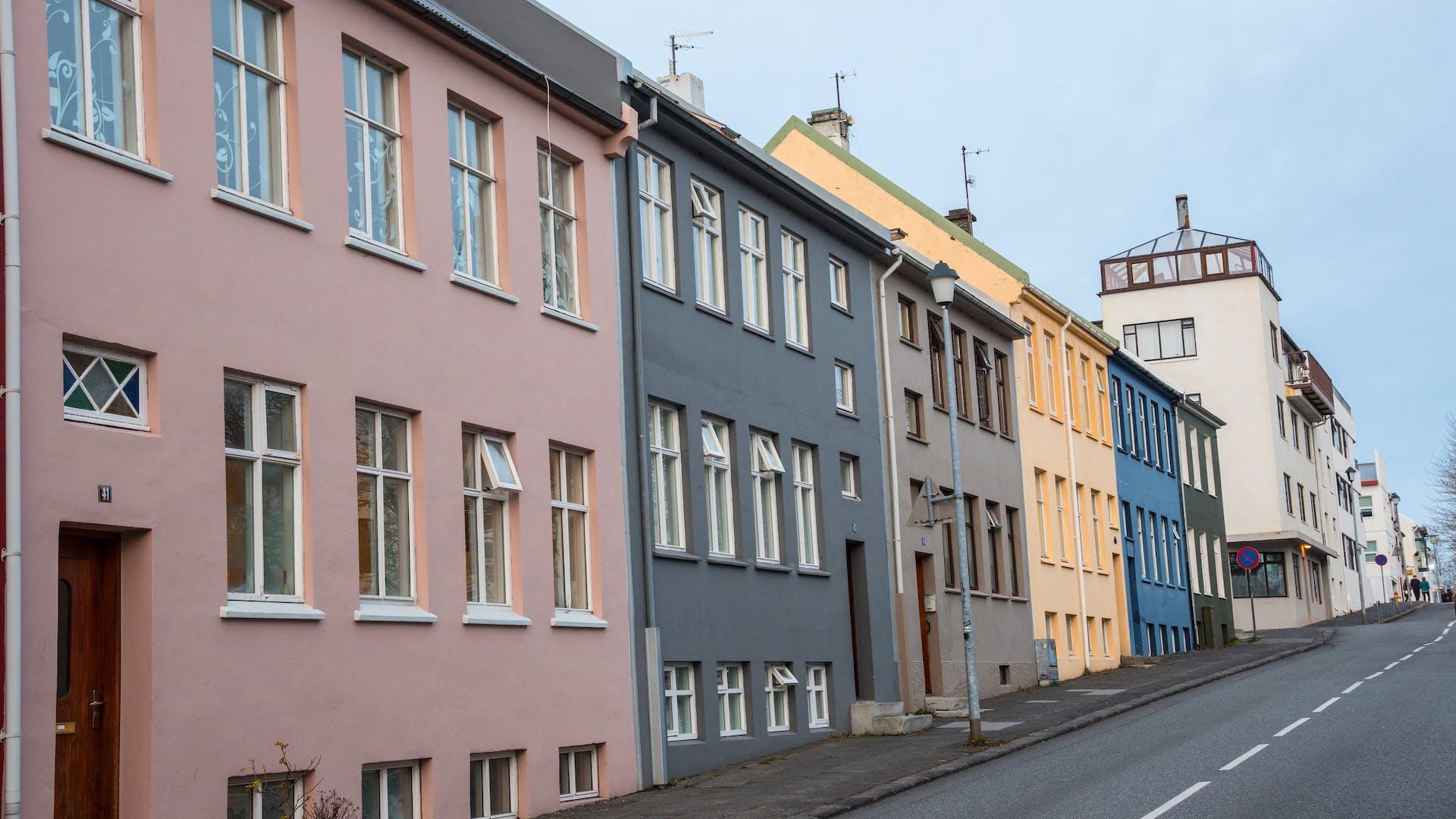 Gata í Reykjavík