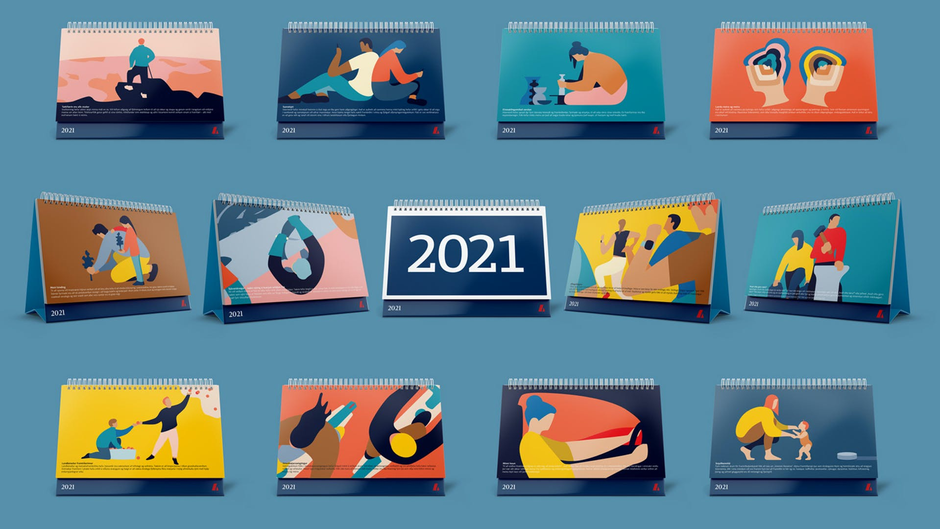 Dagatal Landsbankans 2021