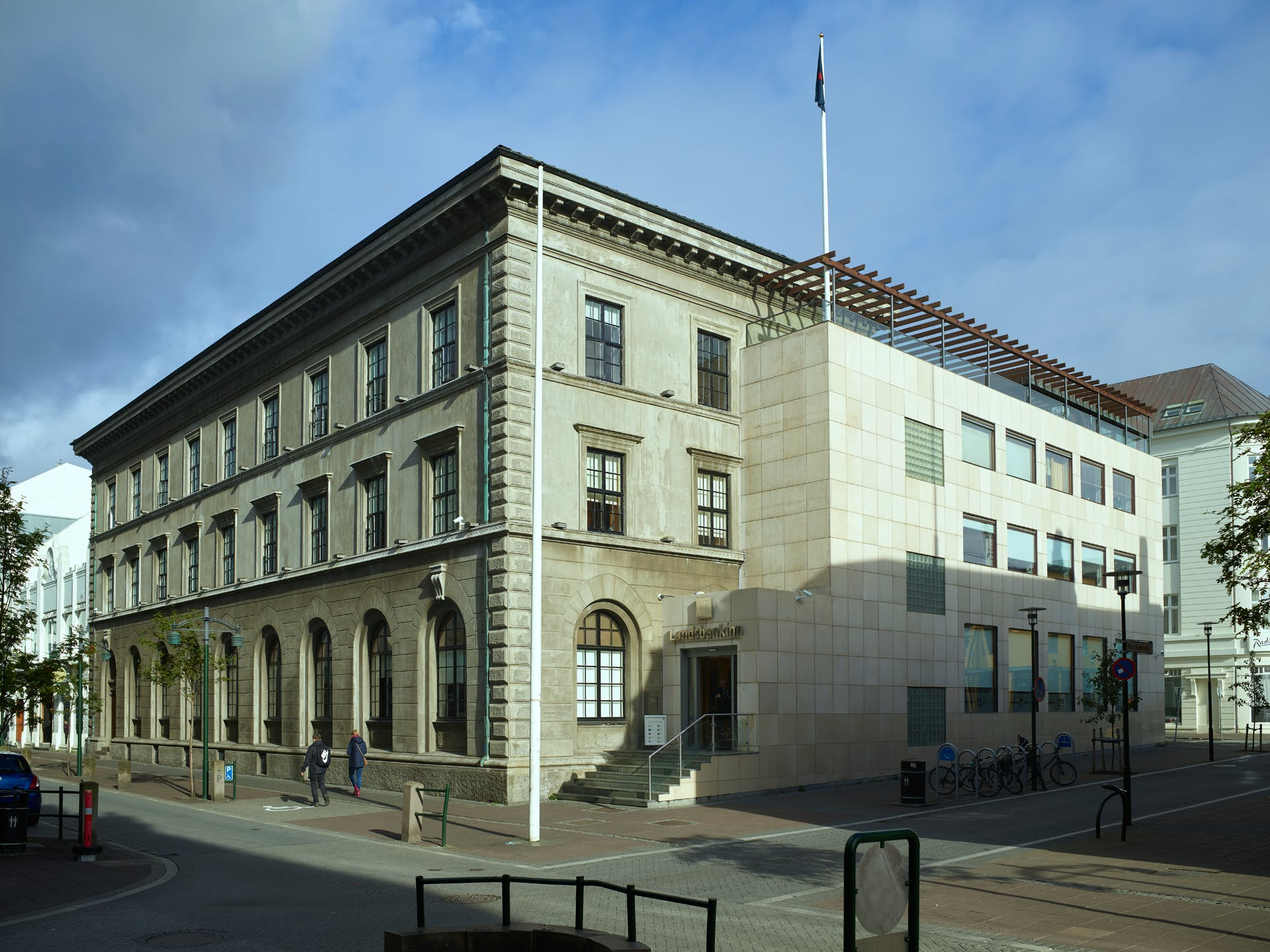 Höfuðstöðvar Landsbankans í Austurstræti
