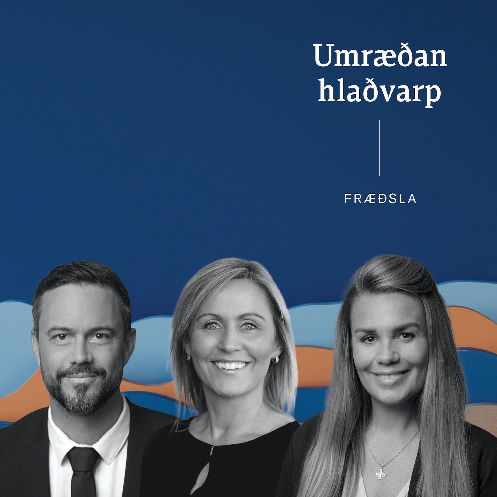 Hlaðvarp: Ægir, Guðný og Elín