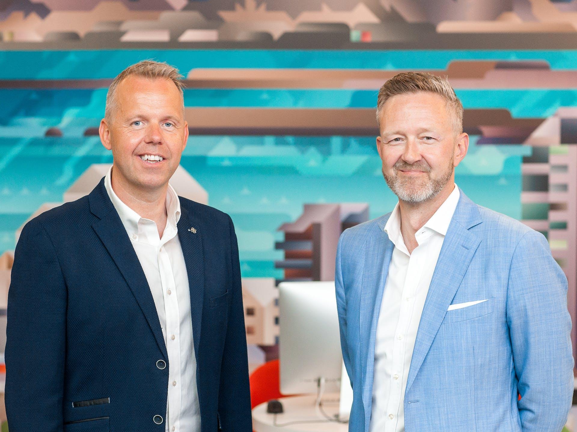 Runólfur V. Guðmundsson og Árni Þór Þorbjörnsson