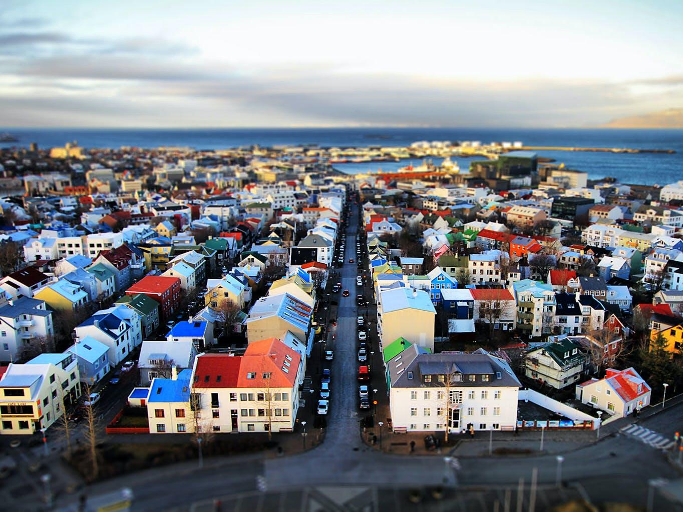 Skólavörðustígur í Reykjavík