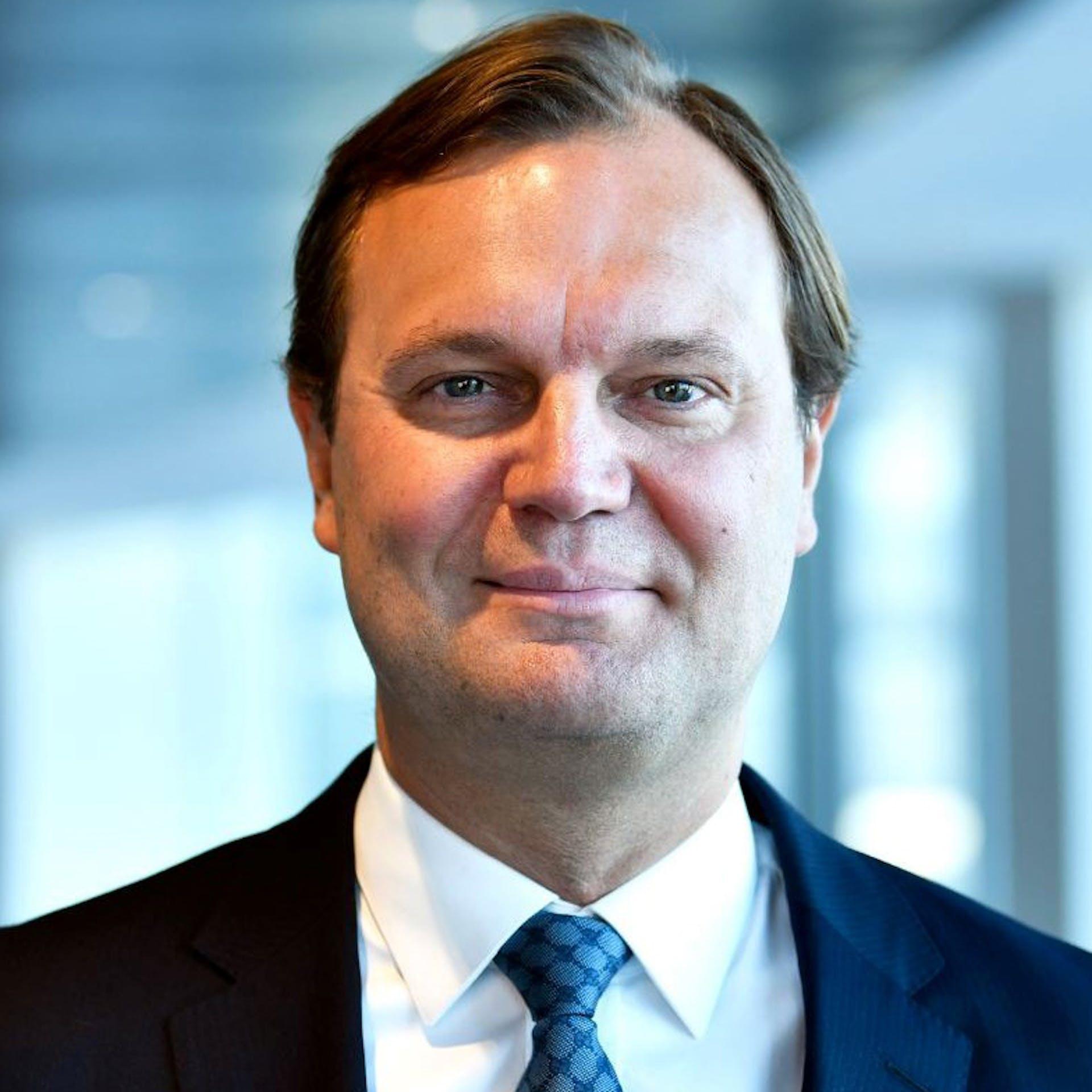 Thomas Kønig, framkvæmdastjóri og yfirmaður Norðurlandamála hjá Goldman Sachs Asset Management