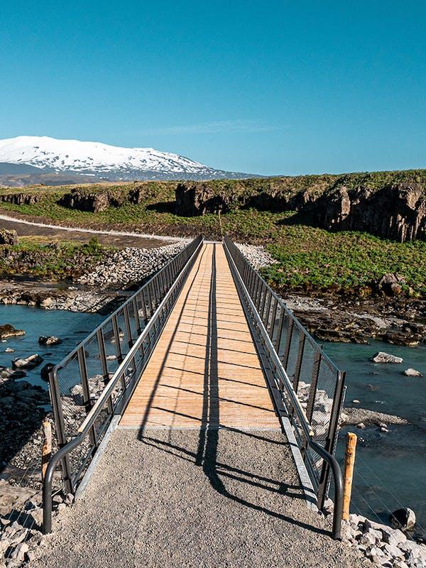 Brú yfir Þjórsá