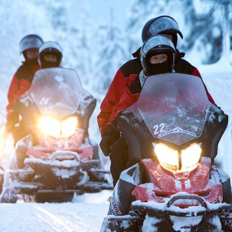 Videos von Aktivitäten in Lappland