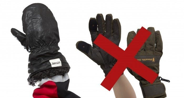 What are the best gloves for winter in Lapland
