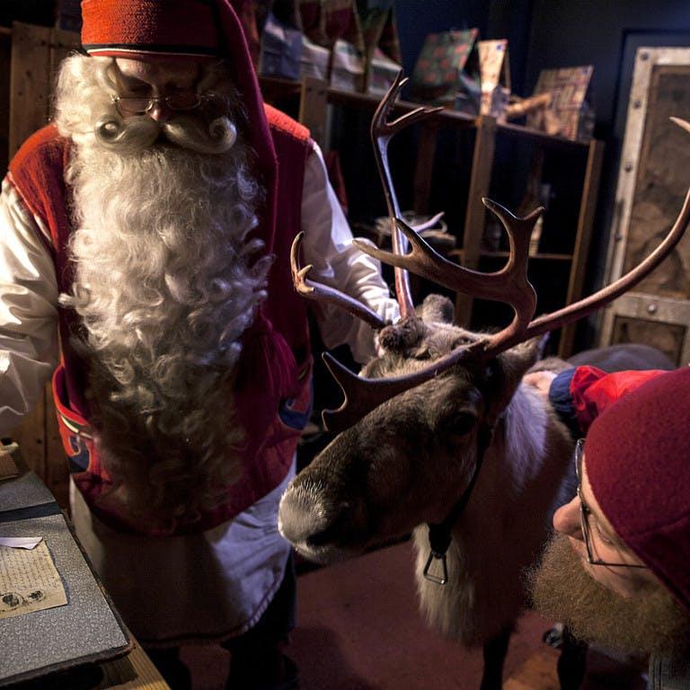 Visita a Papá Noel en Rovaniemi