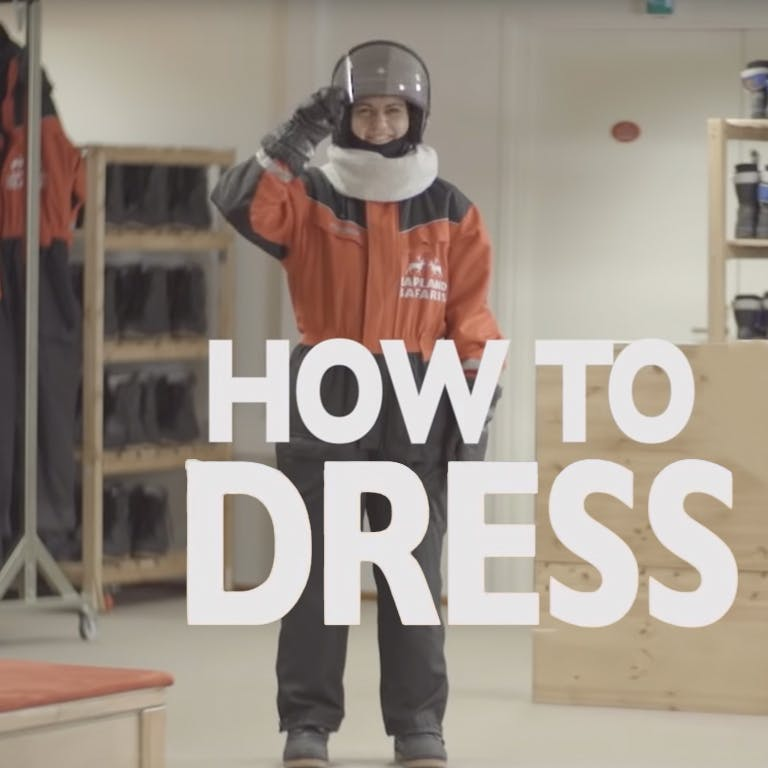 How to dress for winter activities in Lapland: the equipment