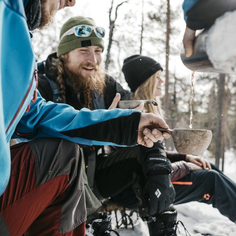 Escursioni con le ciaspole in Lapponia
