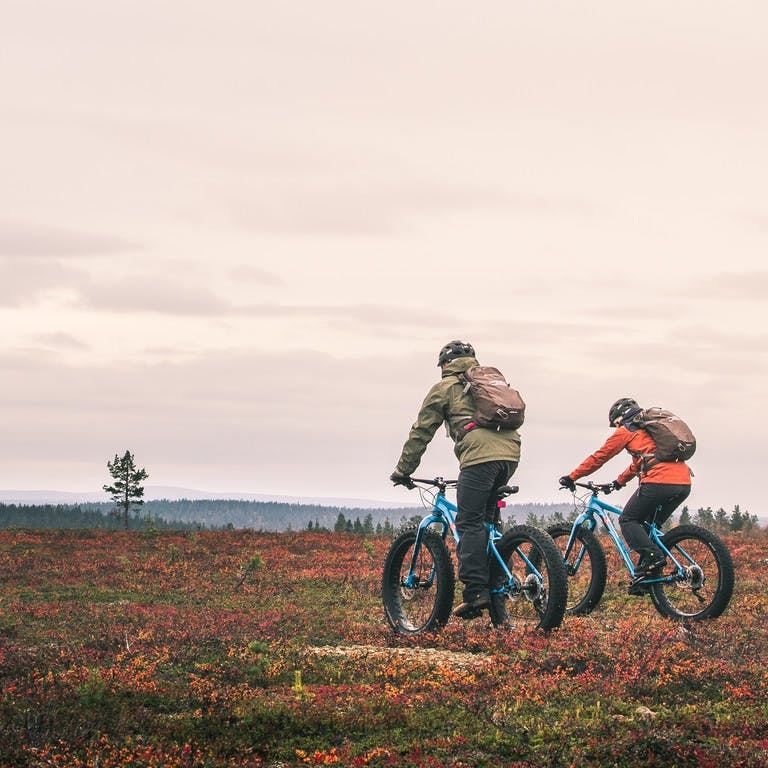 Excursions and bike tours in Lapland. Rent a bike in Lapland