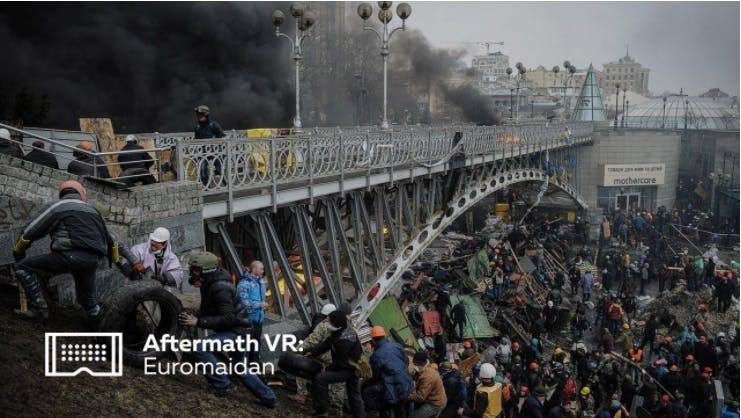 Promotional image for Aftermath VR: Euromaidan