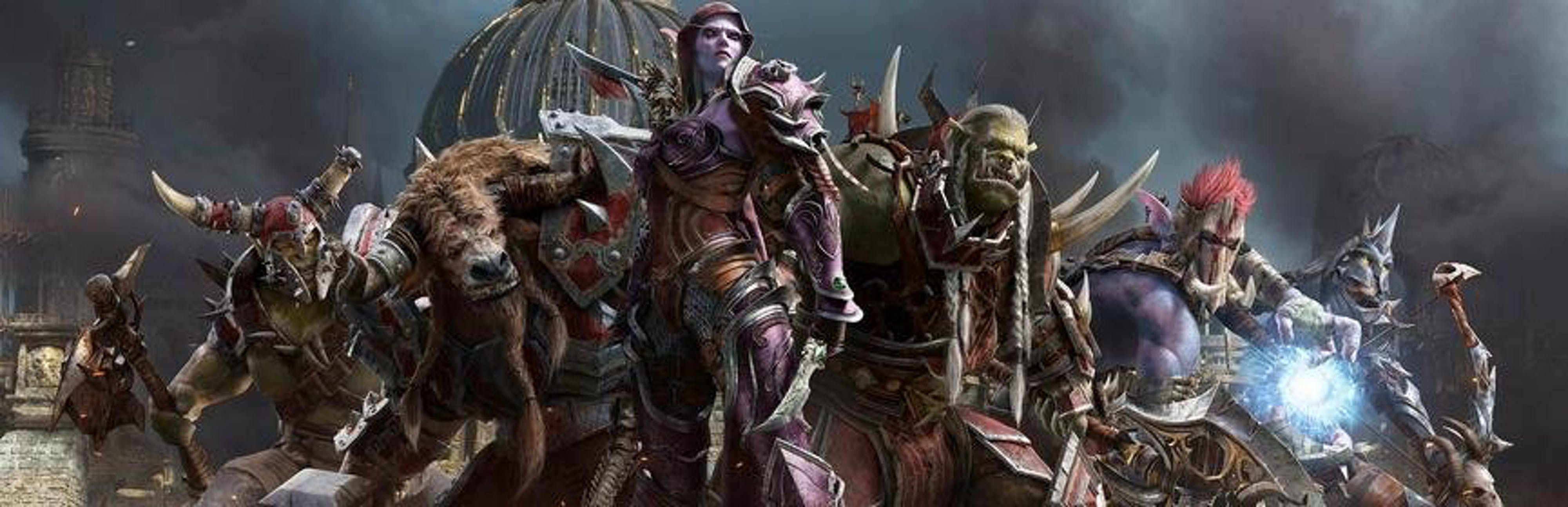 From World of Warcraft: Key group visual from The Battle for Azeroth, courtesy of Blizzard Entertainment.