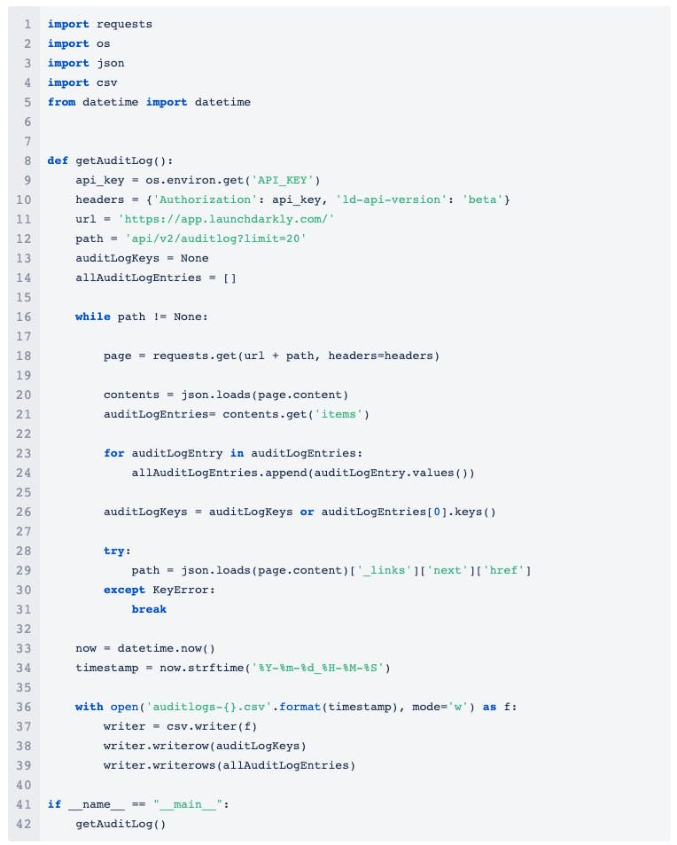 code-snippet-exporting-audit-logs