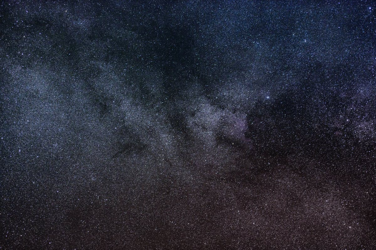Pretty picture of stars at night