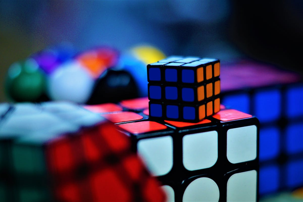 multiple rubiks cubes