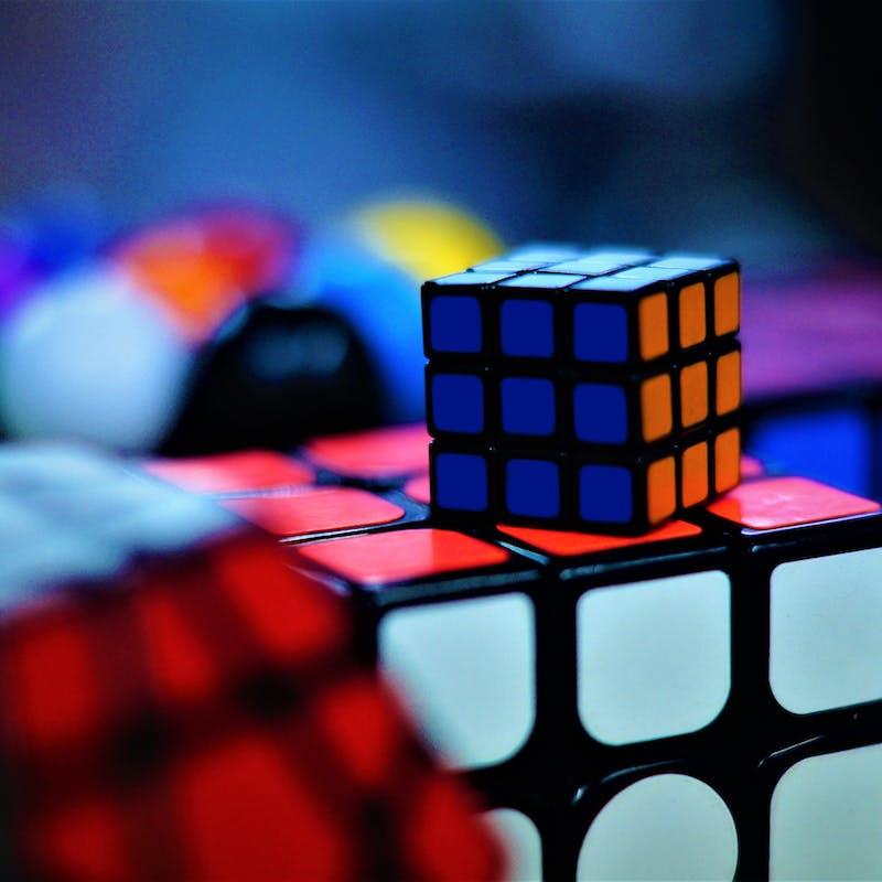 multiple rubiks cubes