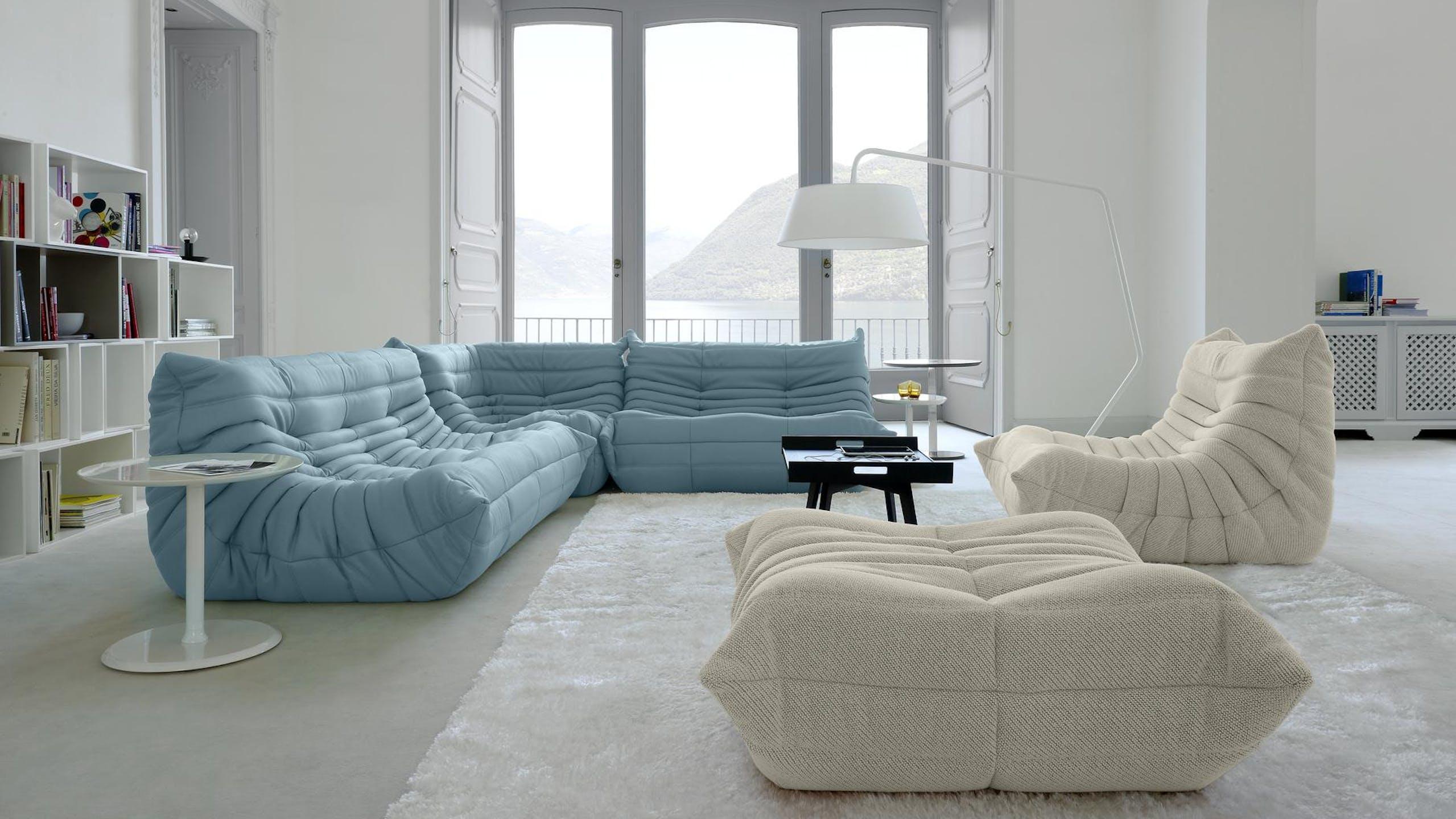 Salon avec canapé Togo