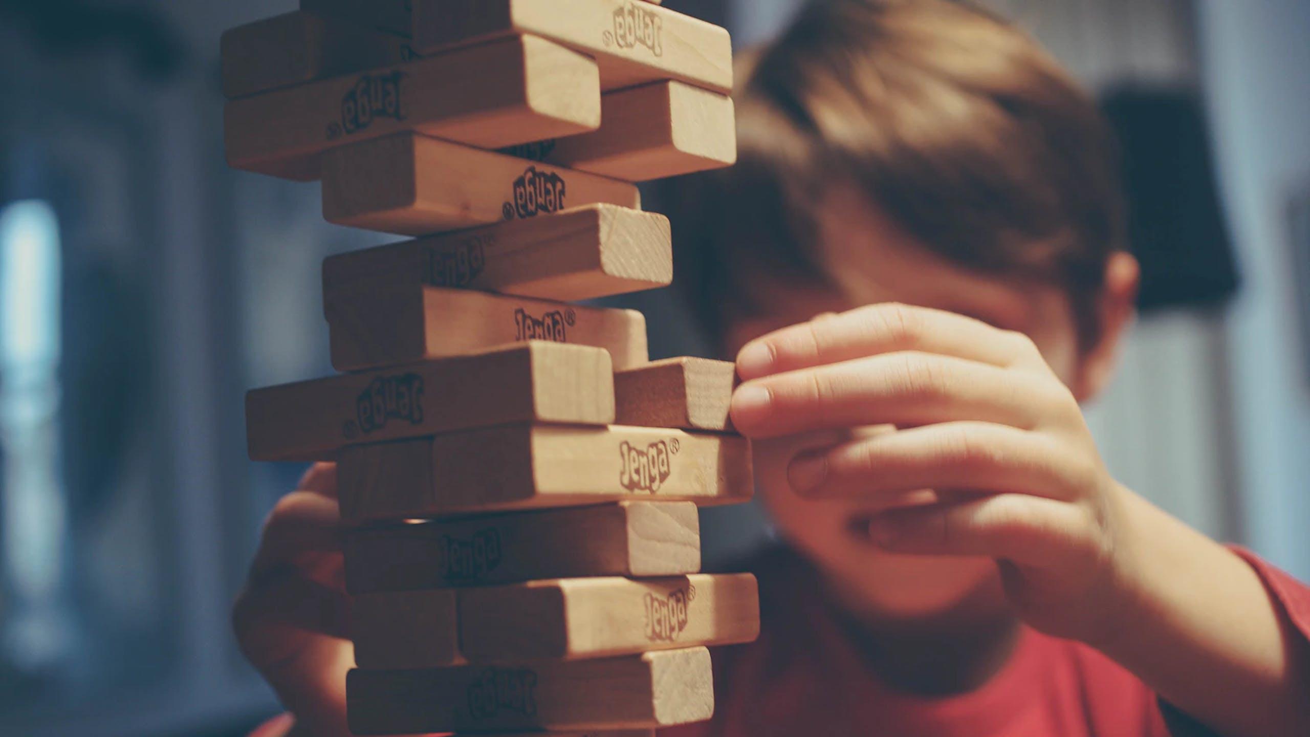 jeu enfant en bois