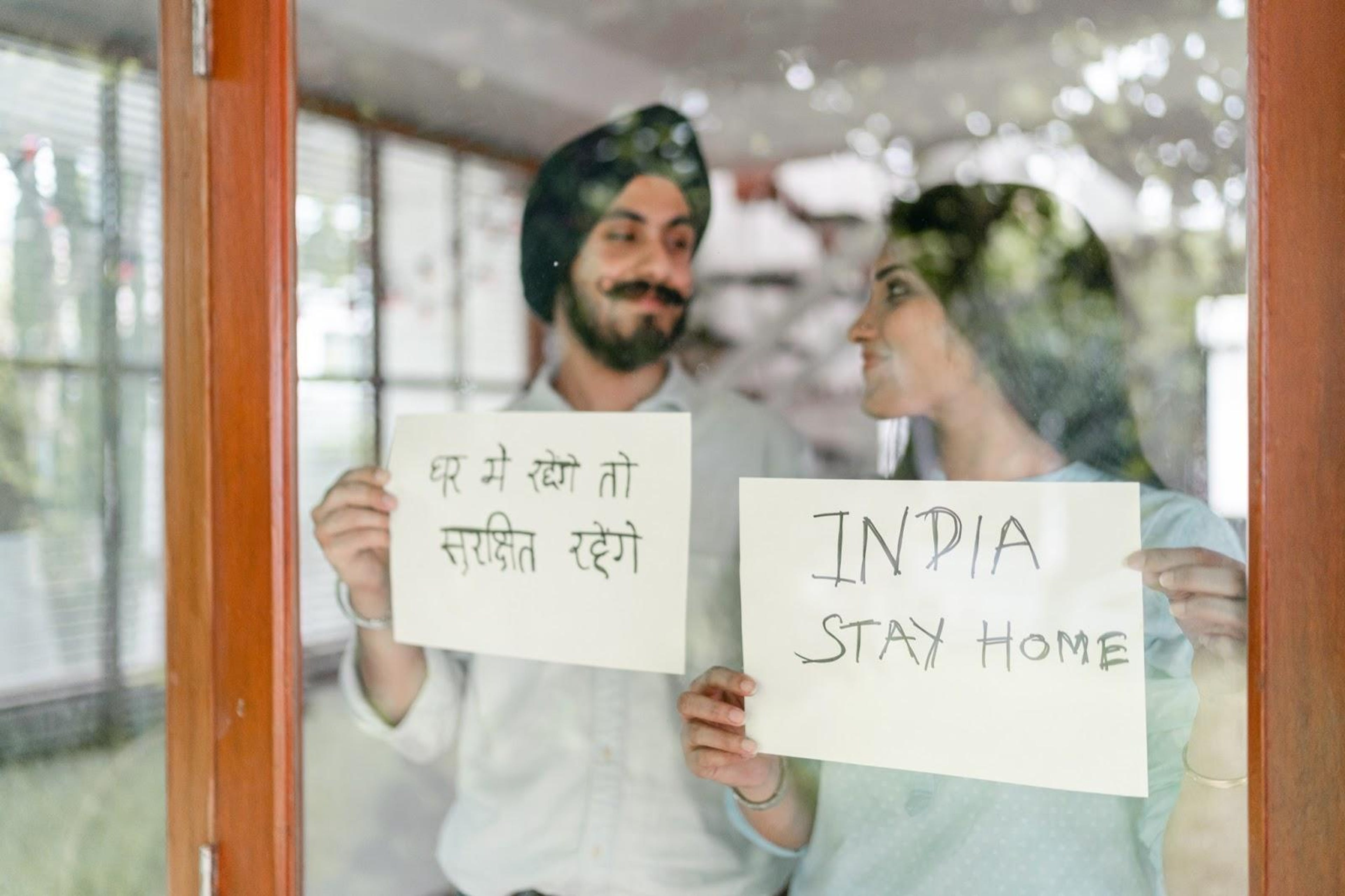 india stay home