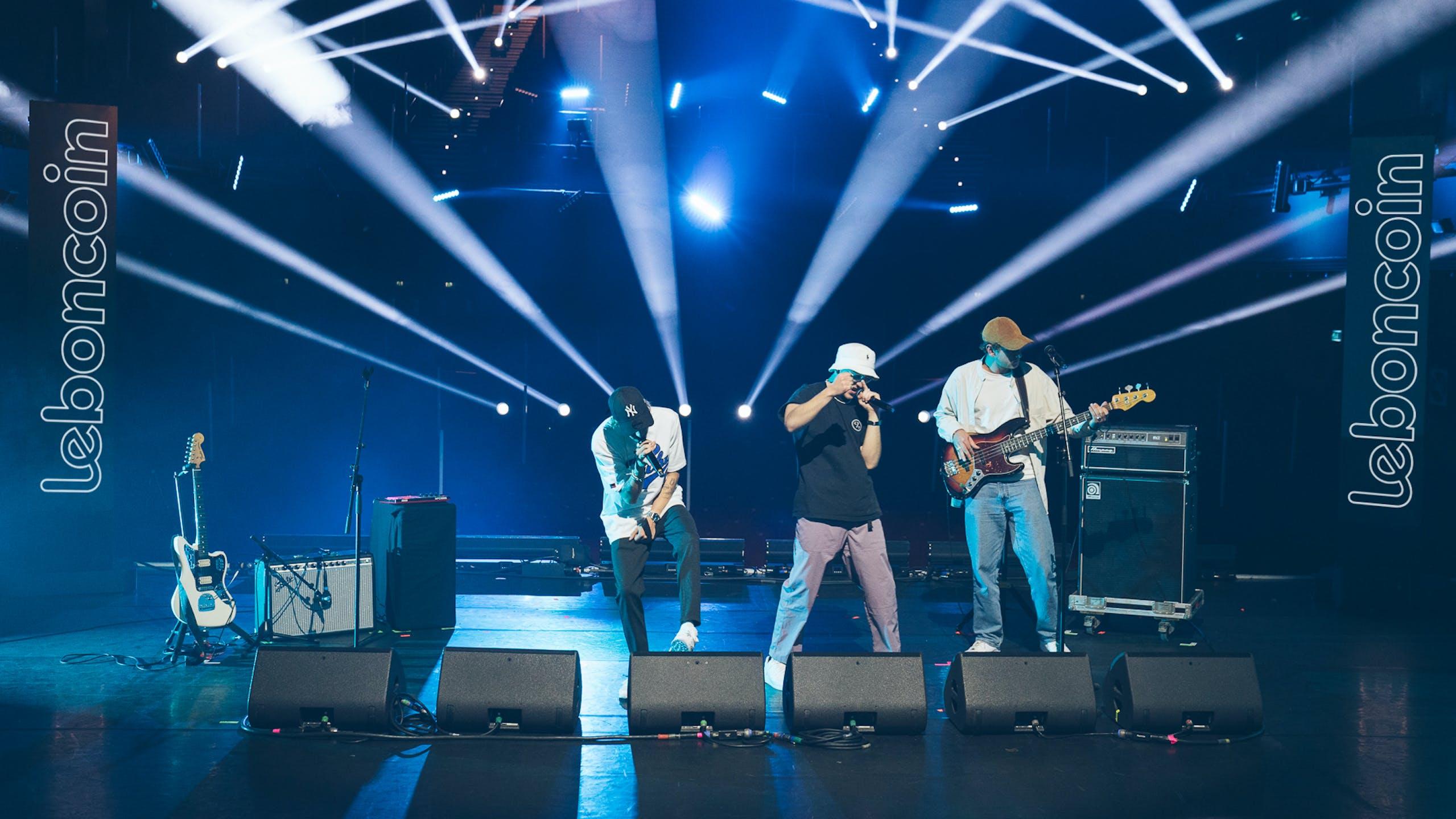 47Ter sur scène concert à l'Olympia