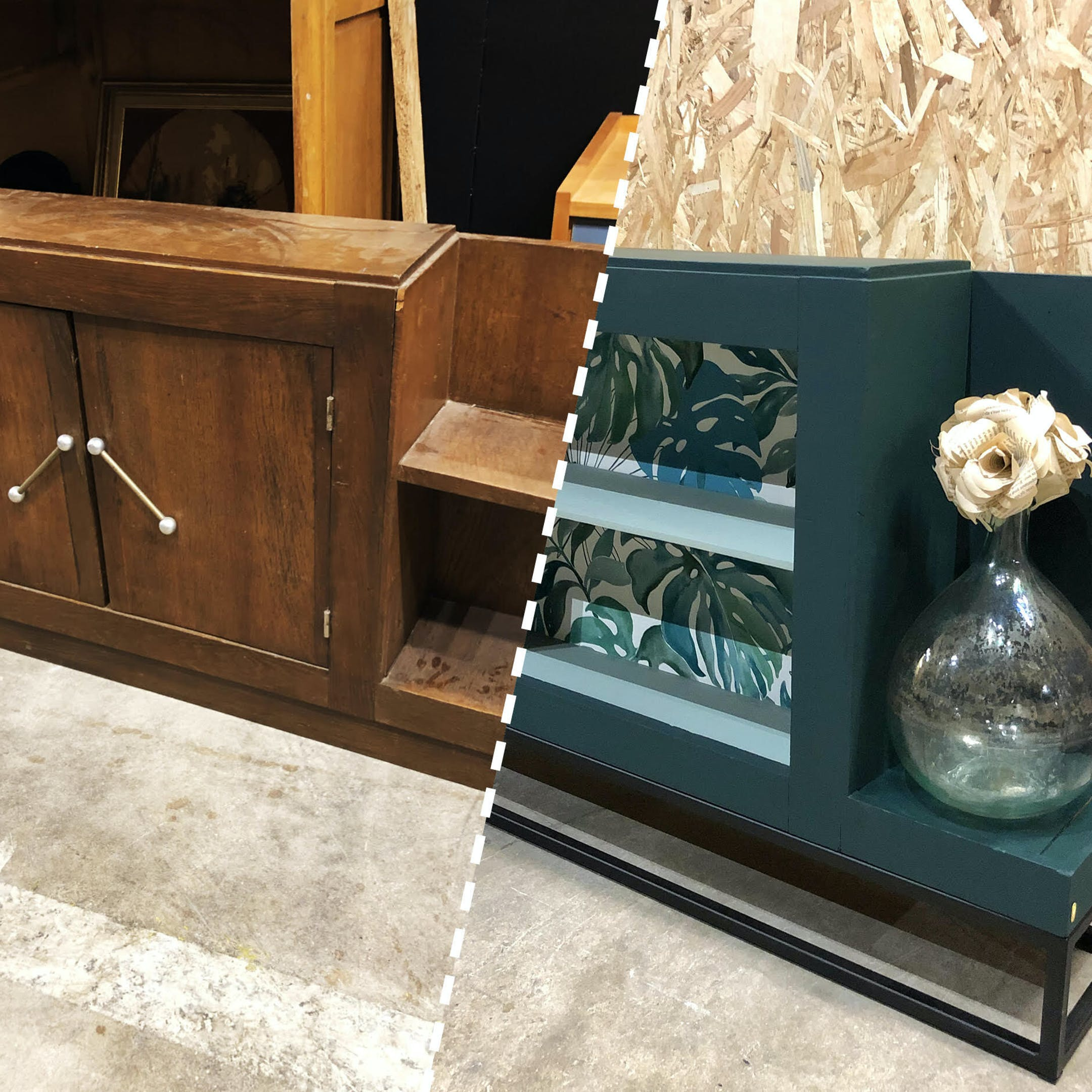 meuble rénové