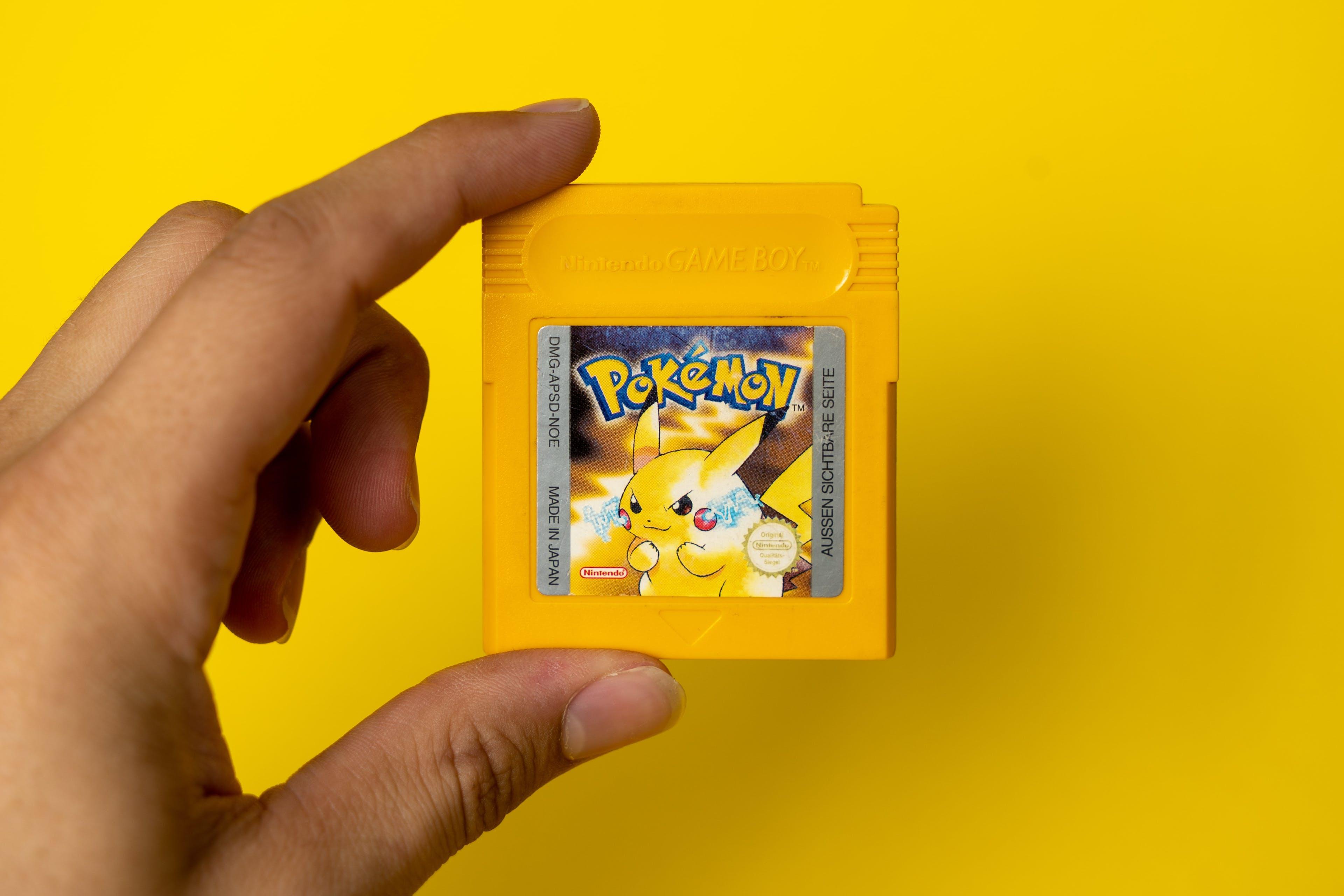 cartouche jeu pikachu