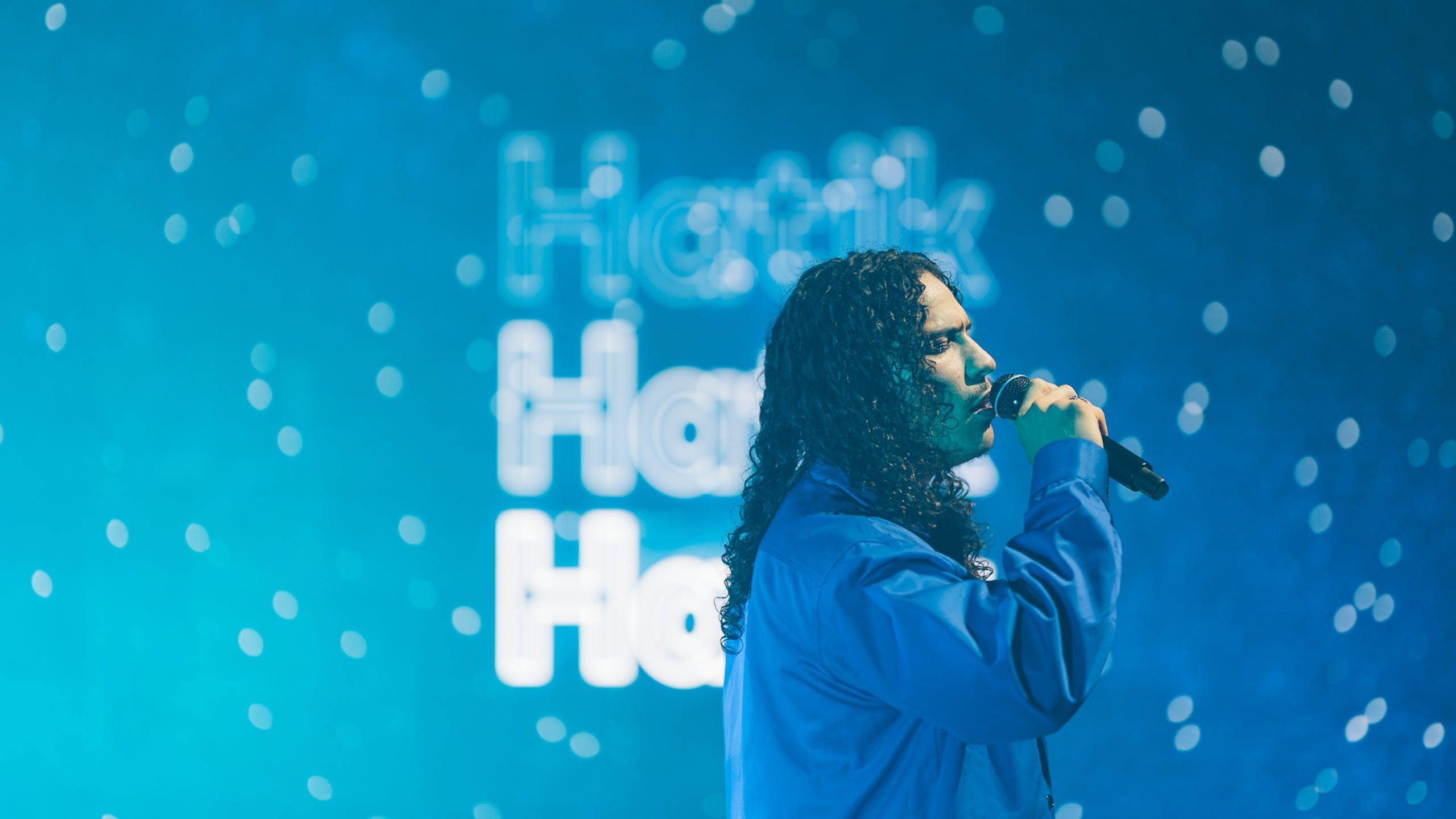 Hatik en concert