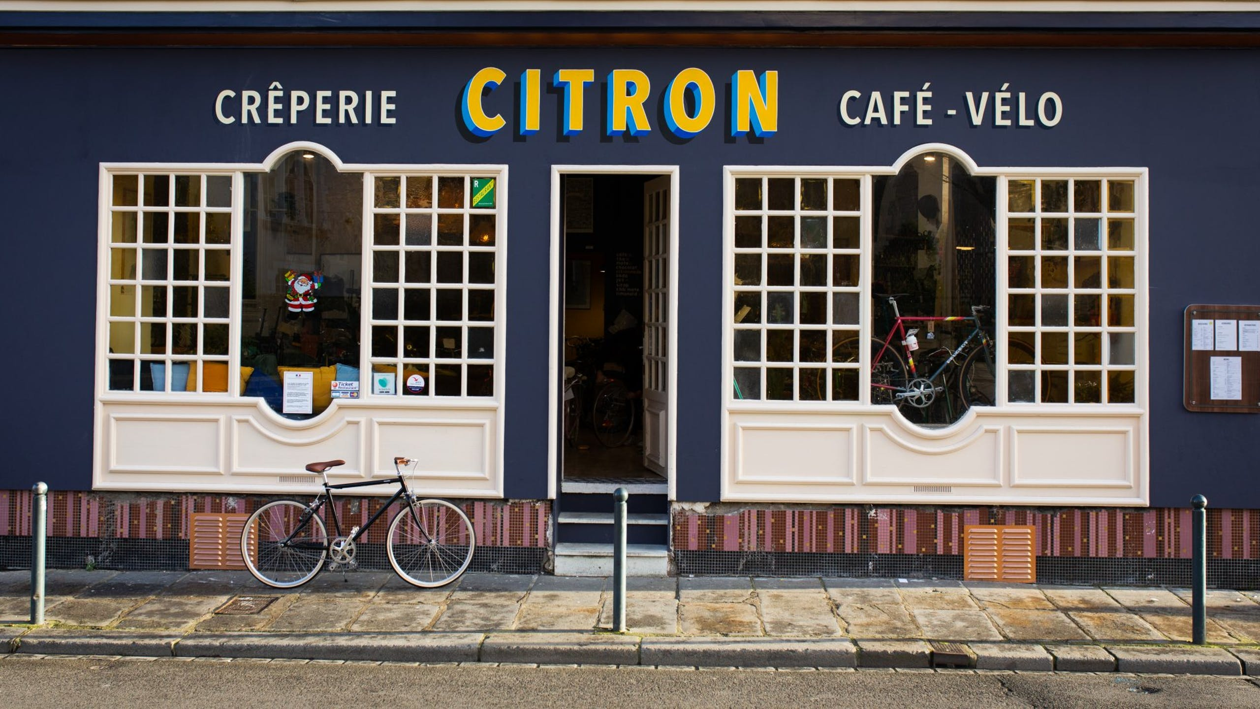 café-vélo Citron