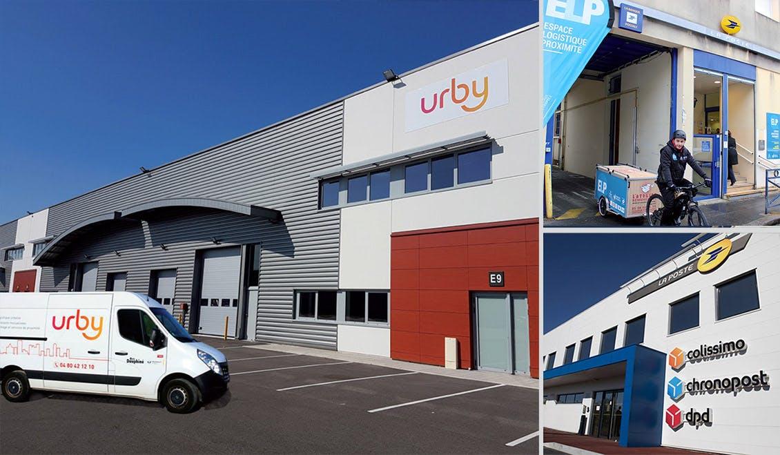 Entrepôt Urby, un Espace logistique de proximité (ELP)