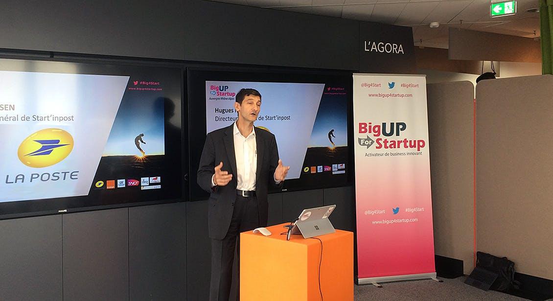 Hugues Hansen, CEO of Start'inPost