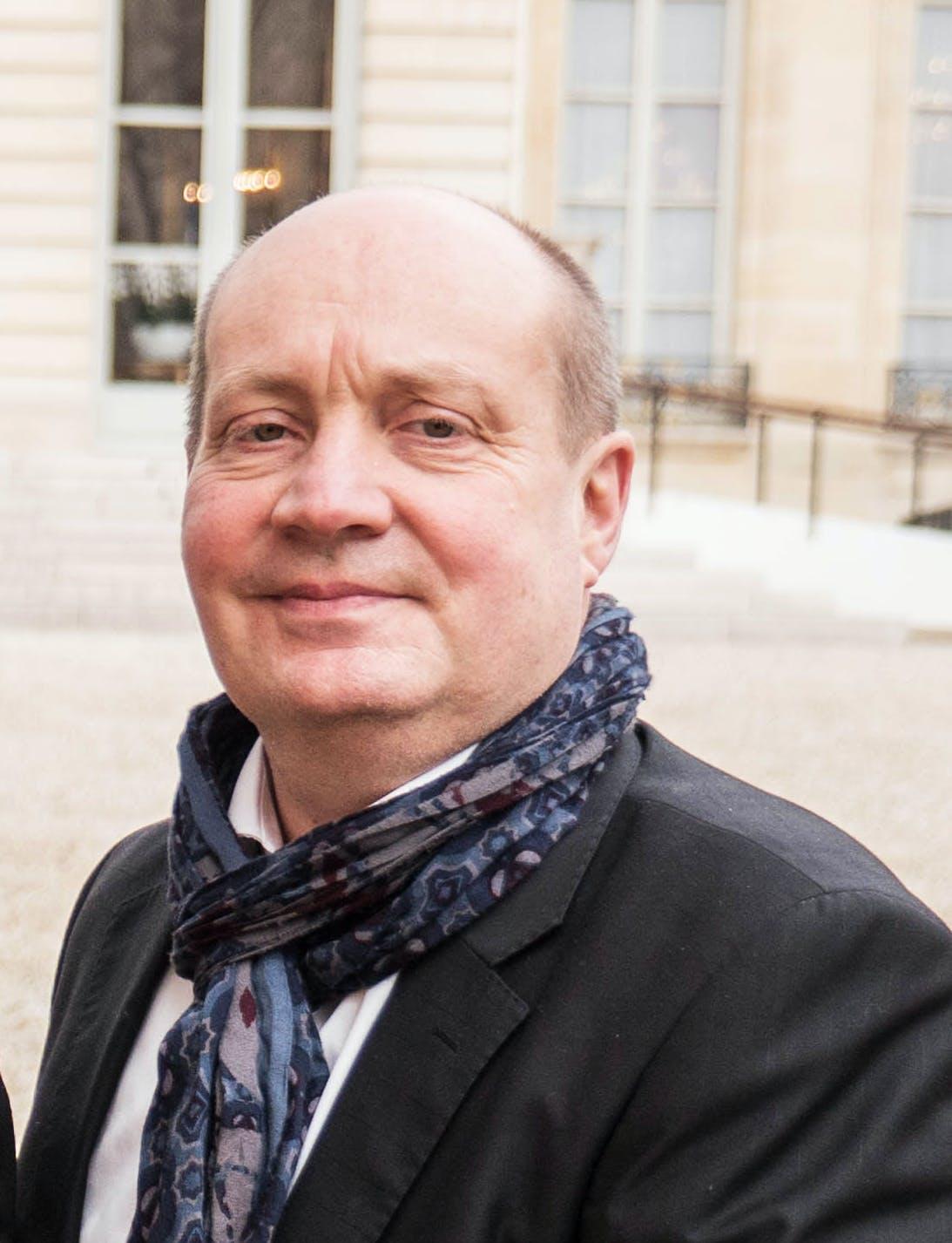Pierre Creuzet, directeur de l'association Centre-ville en mouvement