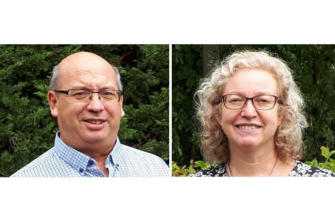 Sabine Deguili et Bernard Schons