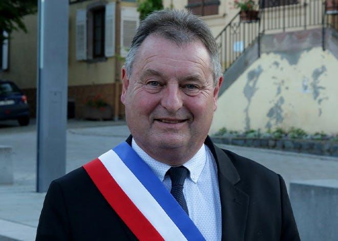 Jean-Claude Mandry, maire de la commune d'Epfig