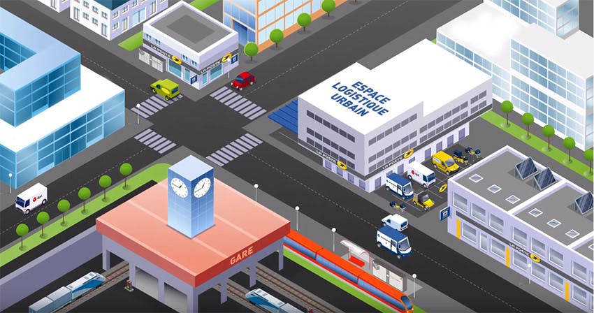 La Poste, premier acteur de la logistique urbaine