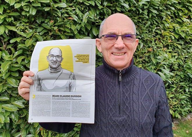 Jean-Claude Dusson, facteur services expert