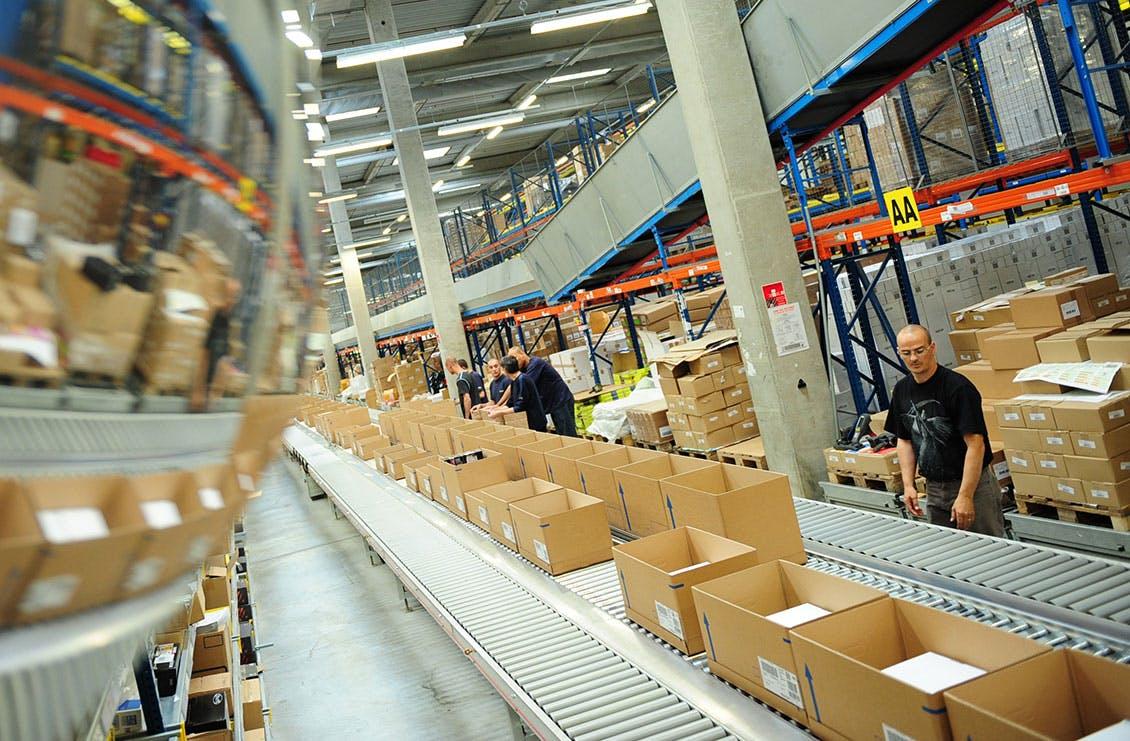 La chaîne d'emballage de Morlaix